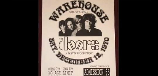 Poster - The Doors at the Warehouse