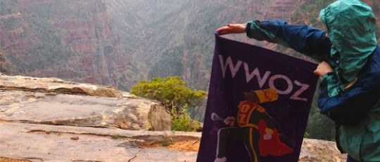 WWOZ at the Grand Canyon
