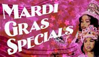 Mardi Gras Specials