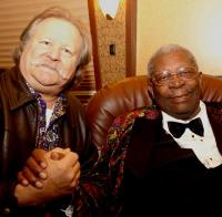 WWOZ show host Big D with the great B.B. King