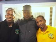 "Sudan, Bernard Robertson, Chris Terro, ""Action"" Jackson"
