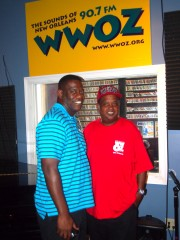 Norman Dixon, Jr., President, Young Men Olympian Jr. Benevolent Association