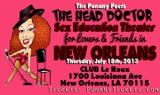 The Punany Poet Sophomore appearance in New Orleans at Le Roux