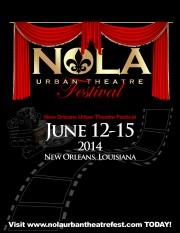 NOLA Urban Theatre Festival Flyer