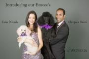 Bets for Pets emcee's WGNO 26 Erin Nicole & Deepak Saini