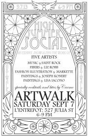 September Artwalk Exhibition: High Summer Social