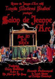 Salon de Jeanne d'Arc poster