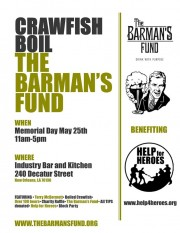 the barman's fund nola, #drinkwithpurpose, help for heroes