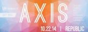RAW NOLA presents AXIS 10.22.14