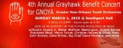 4th Annual Grayhawk Benefit Concert for GYNOY - March 1, 2015 at Southport Hall
