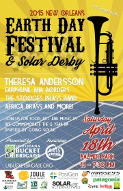 2015 New Orleans Earth Day Festival and Solar Derby