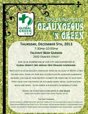 GEAUXgeous, GREEN, NOLA, Global Green, Sustainability, New Orleans