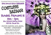 Threadhead Cultural Foundation Presents:23rd Annual NOLA Deisgner Costume Bazaar