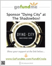 Dying City at Shadowbox Theatre Campaign Poster