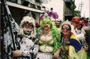 We Three Queen's of Mardi Gras Day!