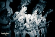 Slow Burn Burlesque performs April 19th at Cafe Istanbul, New Orleans