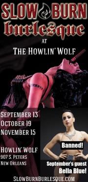 Slow Burn Burlesque Howlin' Wolf Sept 13, 2013