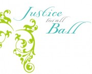 Justice For All Ball Logo