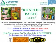 Recycled Raised Beds Workshop