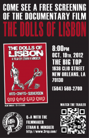 free movie screening of the Dolls Of Lisbon