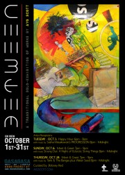 AYO SCOTT SOLO EXHIBITION ON VIEW OCT 1 - NOV 1 at GASA GASA on Freret St.
