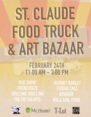 Food Truck Round-Up, St. Claude, Community events
