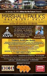 Marshall Faulk's One Night Only