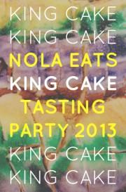 NOLA Eats King Cake Tasting Party