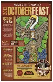 October Feast poster