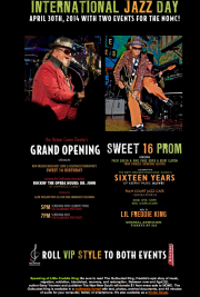 International Jazz Day & Carver Theater Grand Opening, April 30th