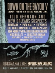 Down On The Bayou 2014 at Republic New Orleans feat. Jojo of Widespread Panic