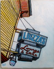 Liuzza's by the Track painting