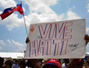 Vive Haiti sign