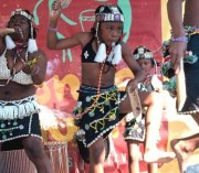 Student performers at Congo Square Fest