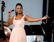 Stephanie Jordan at Jazz Fest 2012. Photo by Erik Waters.