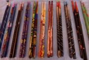 Painted drumsticks
