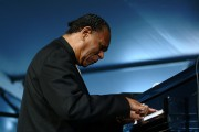 McCoy Tyner at Jazz Fest 2005. Photo by Leon Morris.
