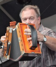 Bruce Daigrepont Cajun Band at Jazz Fest 2012. Photo by Kichea S Burt.