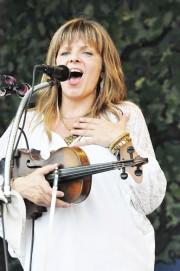 Theresa Andersson at Jazz Fest 2012. Photo Kichea S Burt.