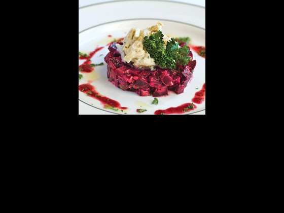 Louisiana Jumbo Lump Crab and Beet Salad