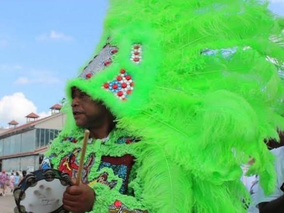 Jerod Lewis, Big Chief Rody, Mardi Gras Indians, Black Eagles