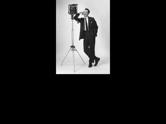 Herman Leonard in a self portrait from 1953