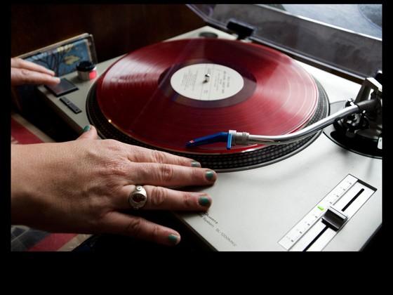 Vinyl in the studio
