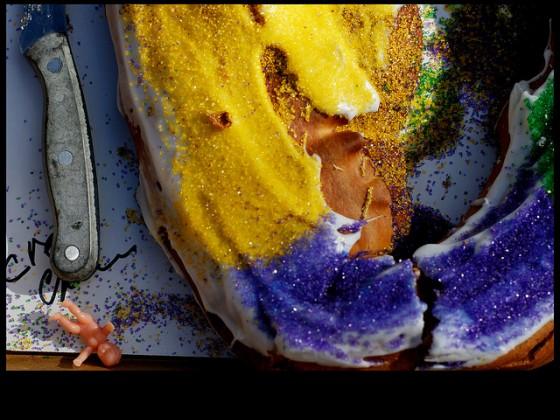 King Cake. by Ryan Hodgson-Rigsbee (http://rhrphoto.com/mardi-gras)