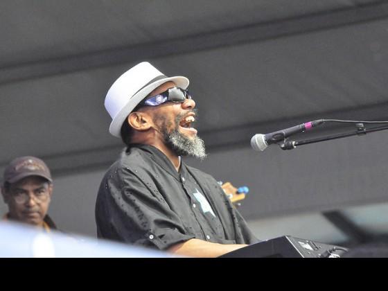 Butler at Jazz Fest 2013 [Photo by Kichea S. Burt]