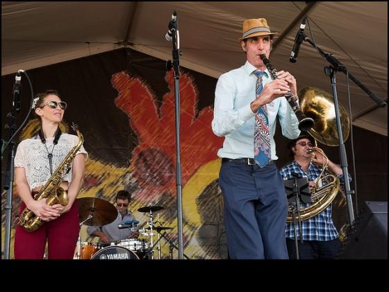 Panorama Jazz Band on the Jazz & Heritage Stage