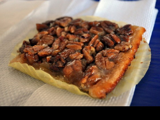 Bacon Pecan Square from Marie's Sugar Dumplings. Photo by Stafford.