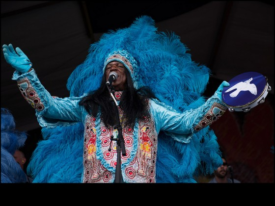 Big Chief Monk Boudreaux and the Golden Eagles [Photo by Ryan Hodgson-Rigsbee]