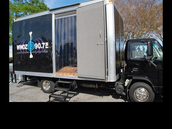 WWOZ Broadcast Truck