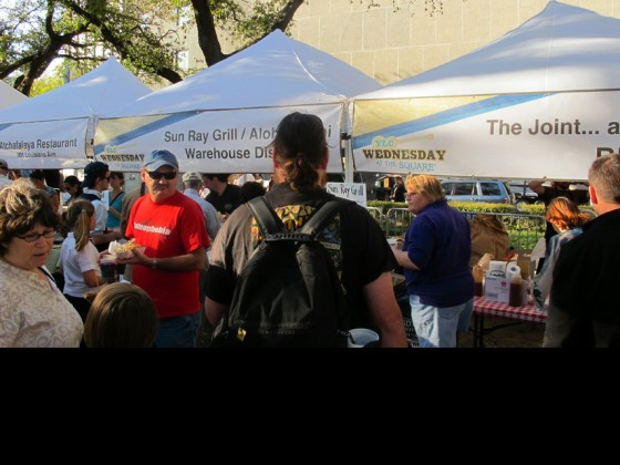 Food Tents at Lafayette Square